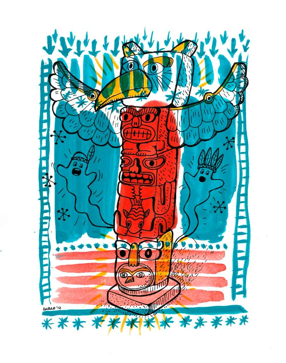 totem-currelismo-ilustrado